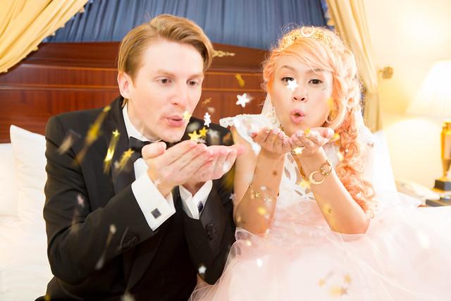 Michelle & Will's Moonlight Wedding: Sailor Moon inspired