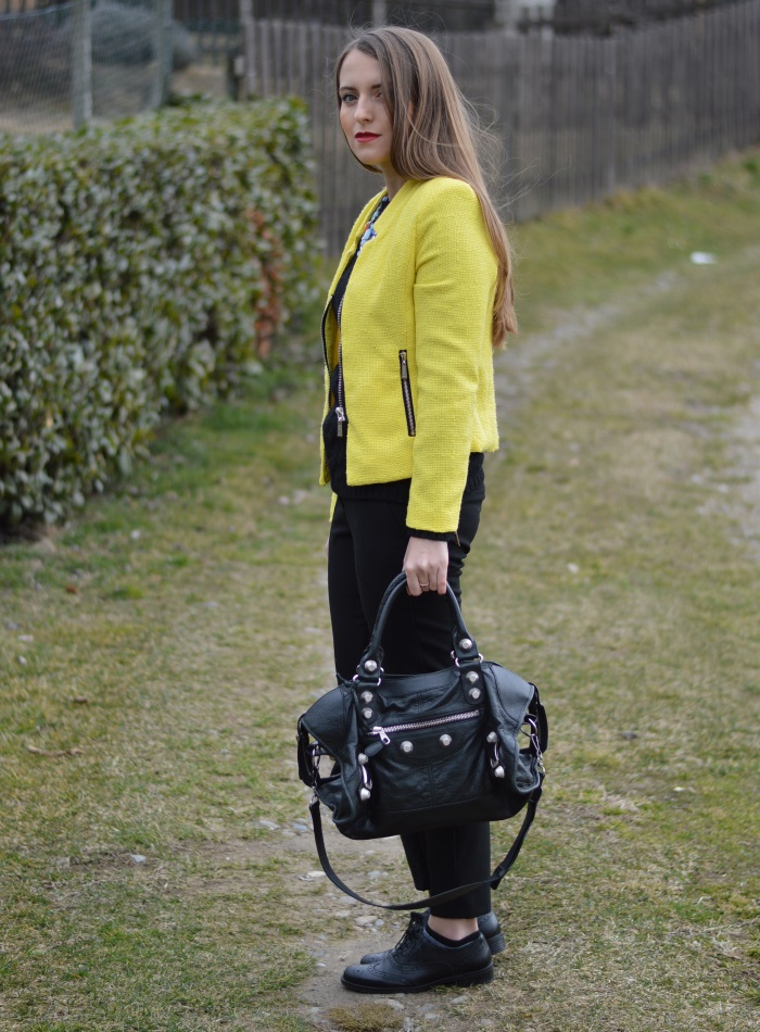 wildflower girl, blazer, sheinside, blazer, giallo, outfit (9)