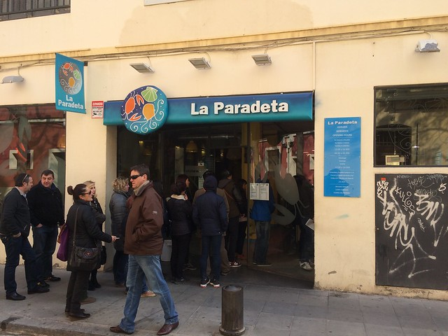 西班牙 巴塞隆納 La Paradeta Restaurant Barcelona Spain