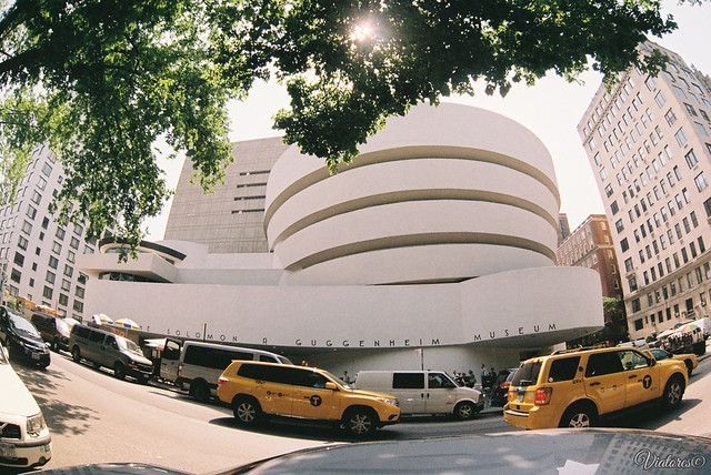 Solomon R. Guggenheim Museum. New York. USA