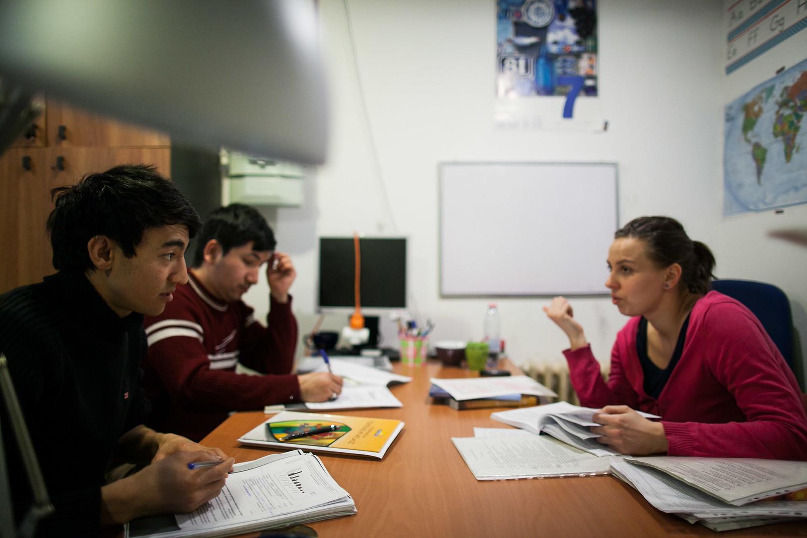 A Református Misszió Migráns Tanoda és Iskolai Integráció programja Budapesten, 2015-ben | Fotó: Magócsi Márton