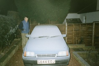 a heavy winter frost, Greenbank, Dec 1992