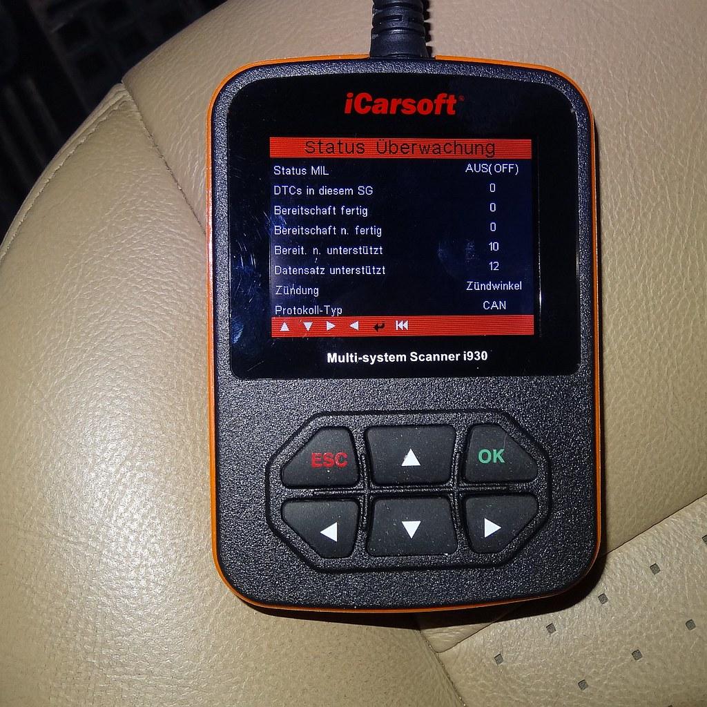 iCarsoft i930 Land Rover Jaguar Diagnosesystem - OBD2-Diag