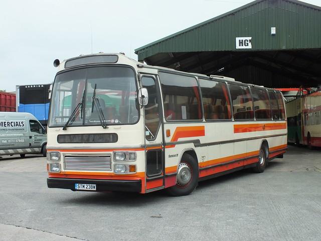 STM 238W Volvo B58 Plaxton Supreme IV, Sharpes next restoration project.