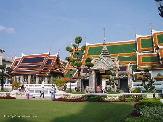 Бангкок,сады дворца
