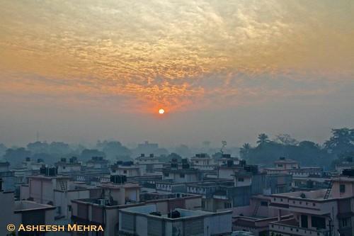 urban sun sunrise canon gujarat navsari concretebeauty