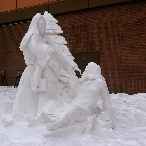 Bruyere sculpture
