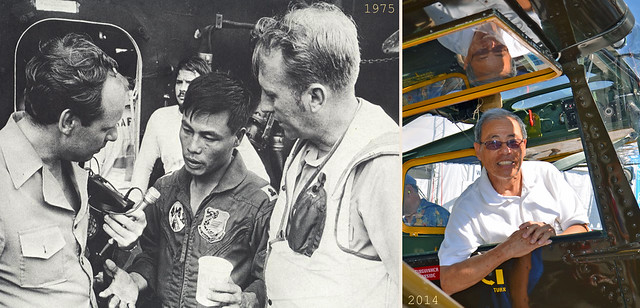 South Vietnamese pilot Major LY BUNG 1975-2014