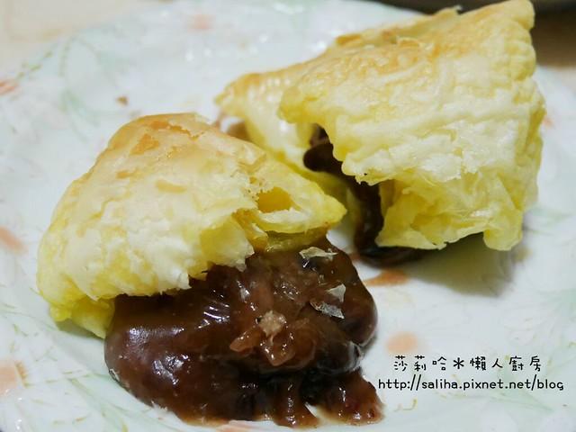 懶人料理酥皮紅豆年糕 (1)