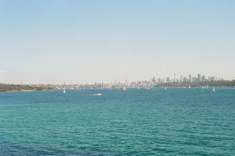Sydney skyline - Camp Cove