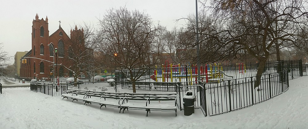 Oak Playground Snow