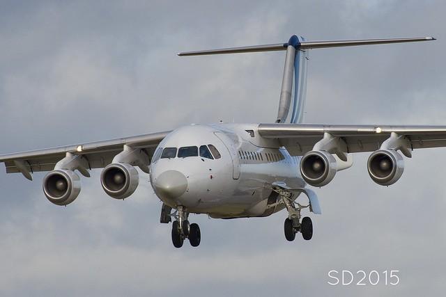 G-TYPH BAe 146-200 [E2200] BAe Systems