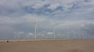 Wind Energy - Aracati-Ce-Brasil. Fev.15.