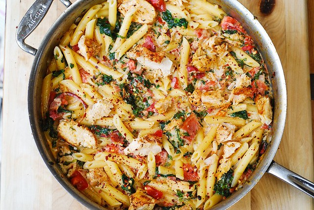Dinner recipes pasta and chicken