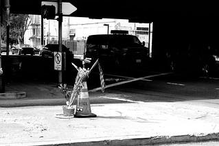 Road side shrine - Downtown Los Angeles Feb 2015