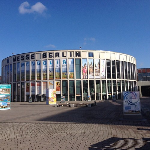 A very warm and sunny welcome to the #ITB #Berlin - worlds largest tourism and travel fair.
