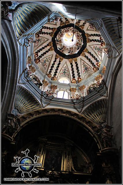 Capilla de la Virgen del Espino en la Catedral de El Burgo de Osma (Soria)
