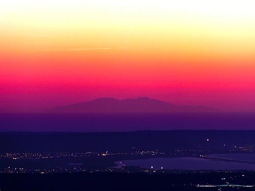 sunset soleil aixenprovence provence canigou bouchesdurhône saintevictoire