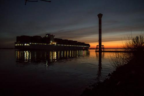 strand hamburg schiff elbe altona leuchtturm blankenese nachtaufnahme falke pentaxk3 pentaxda1540limited