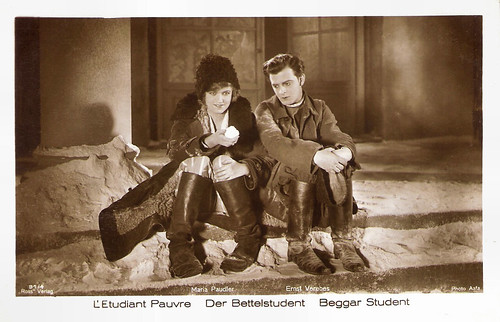 Maria Paudler and Ernst Verebes in Der Bettlelstudent (1927)