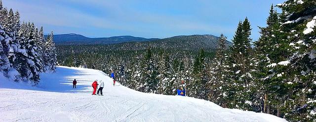 Ski a Tremblant...