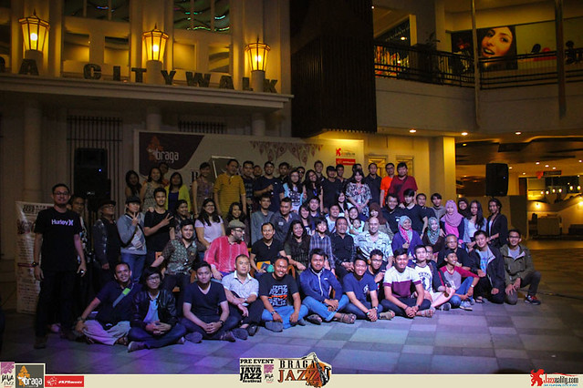 Pre Event Java Jazz Festival 2015 - Braga Jazz Walk Braga CityWalk- Photo Session