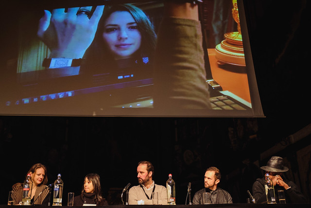 """The panel of the workshop Virtually Everyone: """"Prosumers"""" and Fashion Online"""
