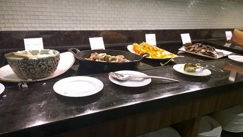 Centurion Lounge food