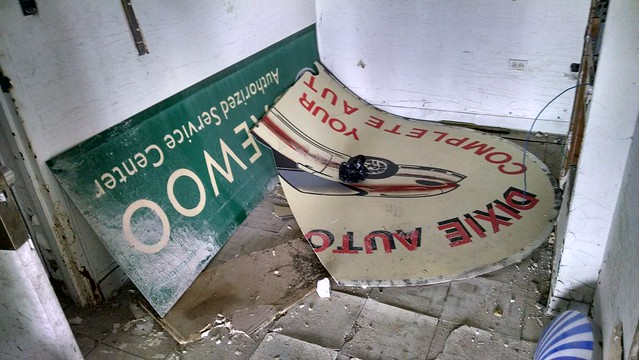 Discarded Signs