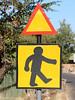 Zombi Crossing Zimbabwe Signs