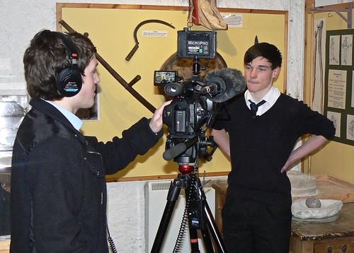 FilmG Heritage Museum BBC Alba Interview