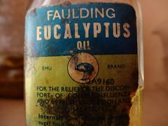 Faulding Emu Brand Eucalytpus Oil.