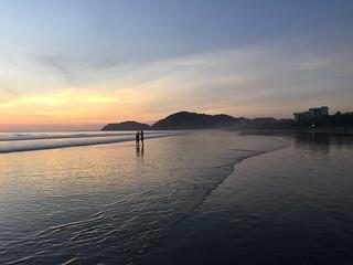Image of Playa Jacó near Jacó. sunset costa beach rica jaco