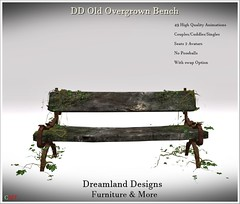 DD Old Overgrown Bench_001a