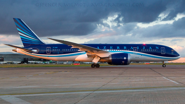 Azerbaijan Dreamliner.