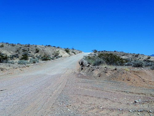 The road to St. Thomas Cove, Lake Mead National Recreation Area, Nevada