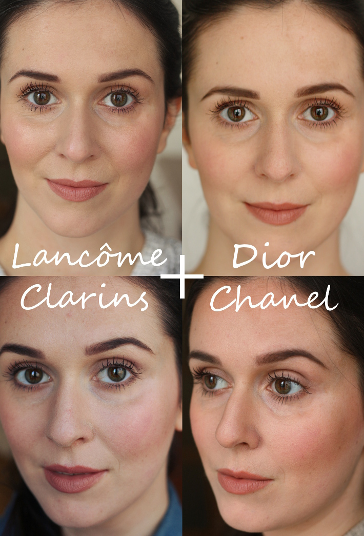 review chanel vitalumière aqua vs teint miracle diorskin clarins teint haute tenue