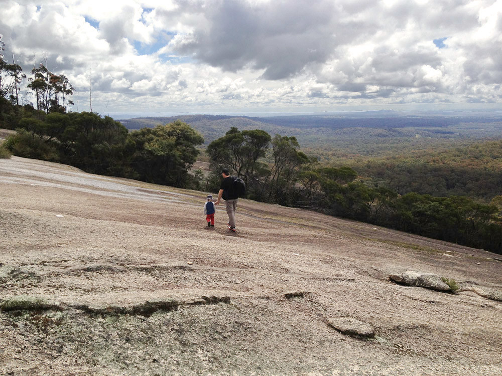 how to get to bald rock