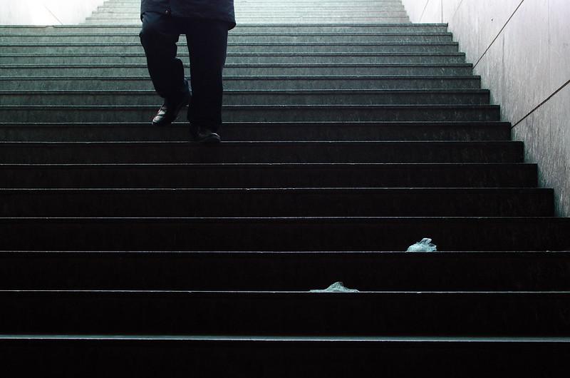 140/365: Subway Stairs