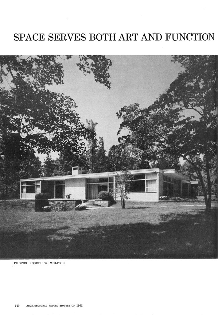 Thrower Residence, Sedgefield, NC, 1962 (Page 1 of 6)