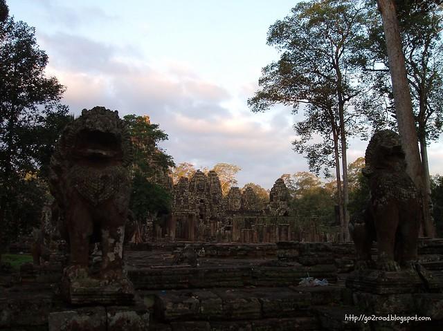 Байон. Ангкор Том. Камбоджа