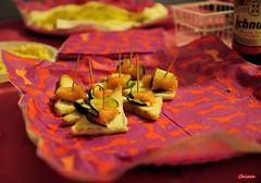 Tartine salmone e zucchine