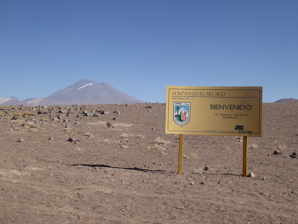 Entrance to Llullaillaco National Park