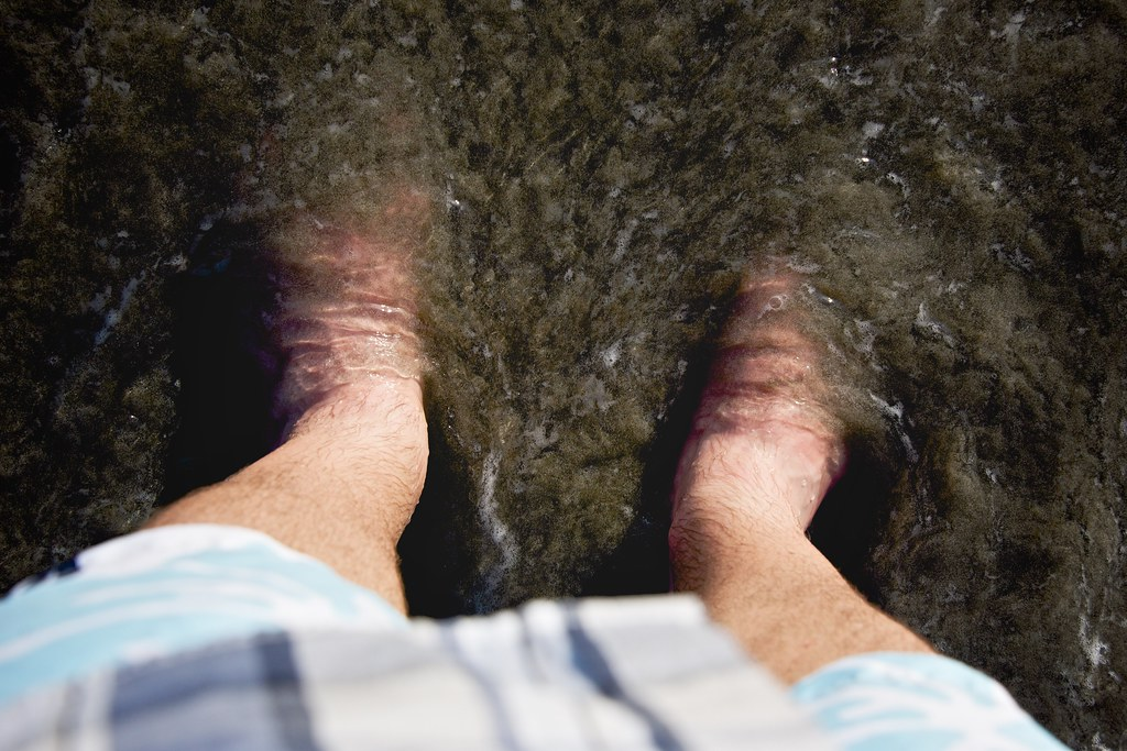 My Feet in the Pacific