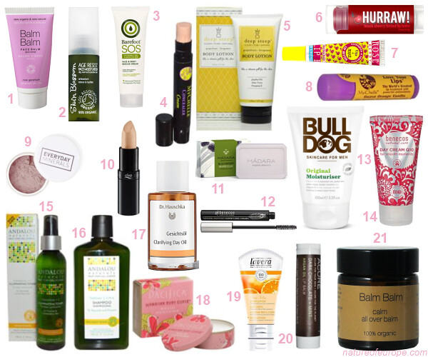 Organic Beauty Holiday Products Under 10