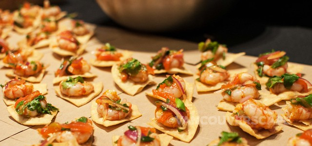 The Fish Counter: Poached BC sidestripe shrimp ceviche