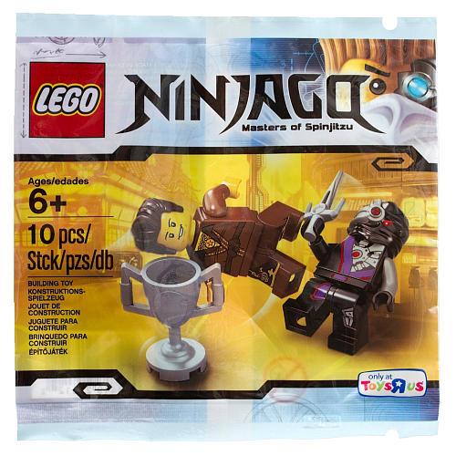 LEGO Ninjago Dareth vs. Nindroid 5002144
