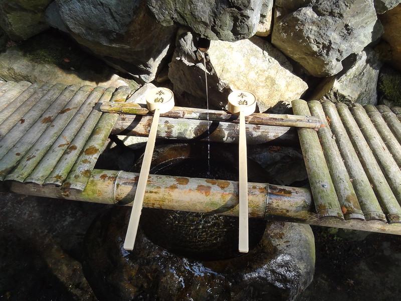 猿丸神社 手水舎(3)