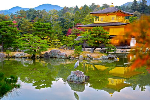 Kinkaku-ji -Temple of the Golden Pavilion@Kyoto2014