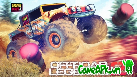 Offroad Legends 2 v1.0.1 Hack Full Fuel & Unlocked cho Android